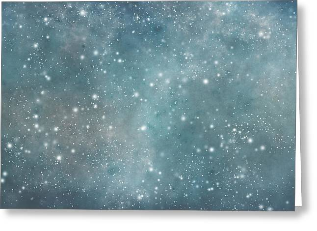 Neutron Greeting Cards - Stunning Duvet Cover Greeting Card by Beverly Guilliams