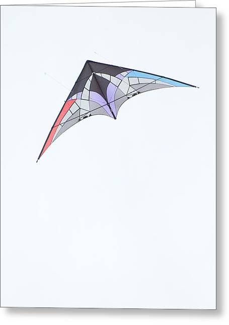 Kites Festival Greeting Cards - Stunt Kite Windscape Kite Festival 2011 Greeting Card by Rob Huntley