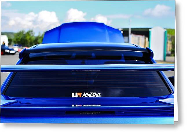 Prodrive Greeting Cards - Subaru Inspection Greeting Card by Phil Kellett