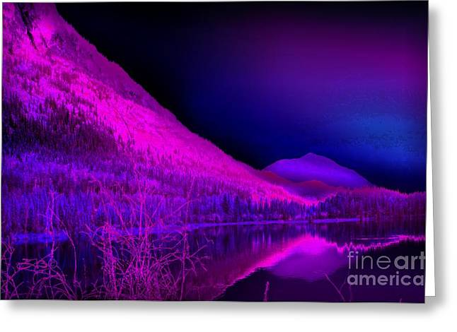 Subconscious Greeting Cards - Subconscious Seclusion Greeting Card by TLynn Brentnall