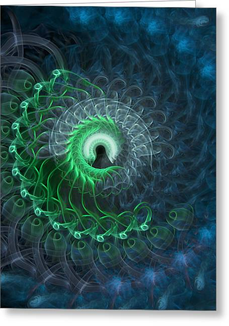 Subconsciousness Greeting Cards - Subconsciousness Greeting Card by Kevin Chiu