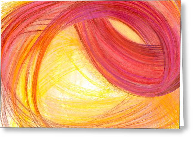 Bright Drawings Greeting Cards - Sublime Design-H2 Greeting Card by Kelly K H B