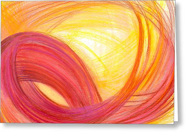 Bright Drawings Greeting Cards - Sublime Design Greeting Card by Kelly K H B
