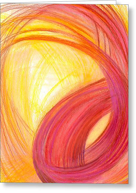 Bright Drawings Greeting Cards - Sublime Design-V1 Greeting Card by Kelly K H B