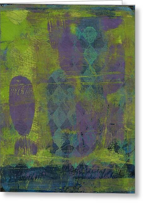 Lisa Noneman Mixed Media Greeting Cards - Sublime Greeting Card by Lisa Noneman