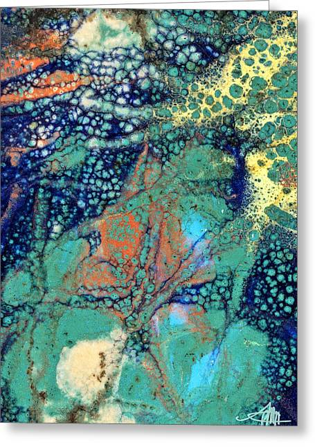 Subconscious Greeting Cards - Submerged Treasure Greeting Card by Patty Miller Hancock