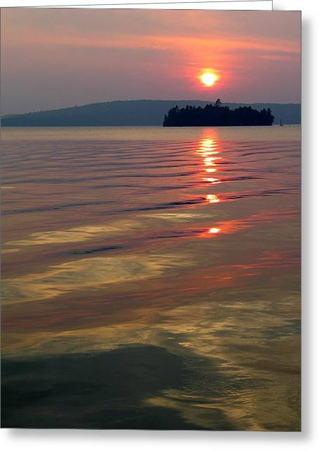Igor Baranov Greeting Cards - Subset at Lake of Bays Greeting Card by Igor Baranov