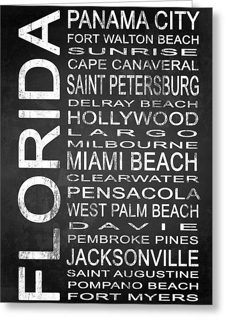 Subway Florida State 1 Greeting Card by Melissa Smith