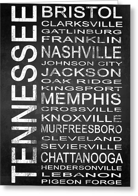 Subway Tennessee State 1 Greeting Card by Melissa Smith