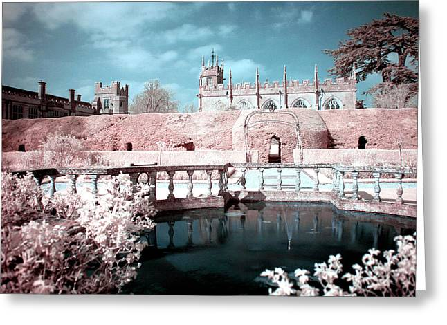 Daily Mail Greeting Cards - Sudeley Gardens Greeting Card by Catherine Perkinton