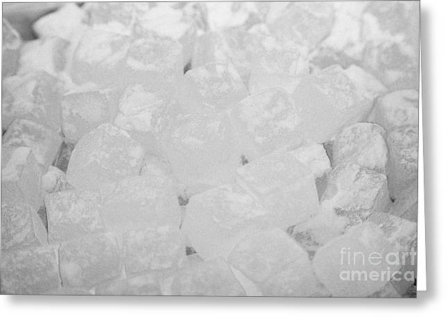 Sugar Cube Greeting Cards - Sugar Coated Turkish Delight Greeting Card by Joe Fox