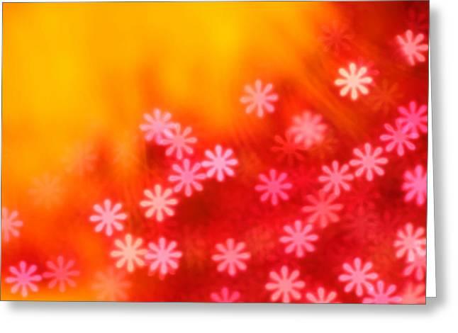 Science Fiction Art Greeting Cards - Sugar Magnolia Greeting Card by Dazzle Zazz