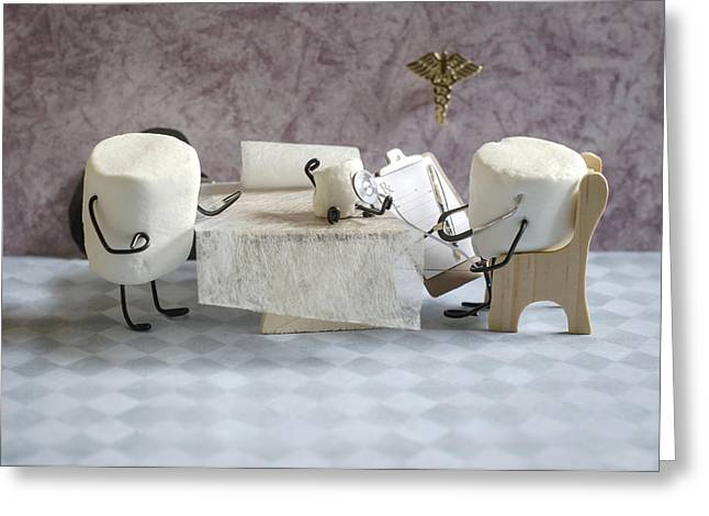Anthropomorphism Greeting Cards - Sugar Specialist Greeting Card by Heather Applegate