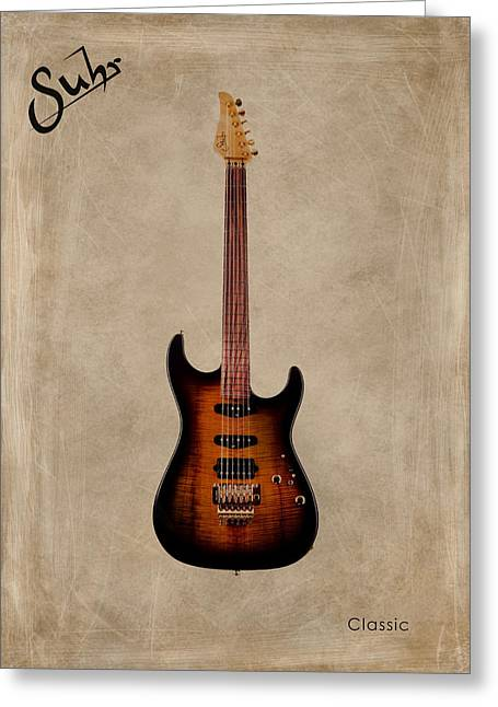 Rock N Roll Photographs Greeting Cards - Suhr Classic Greeting Card by Mark Rogan