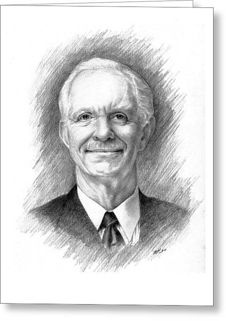 Public Administration Greeting Cards - Sully Sullenberger Greeting Card by Lou Ortiz