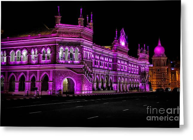 Sultan Greeting Cards - Sultan Abdul Samad Building Greeting Card by Adrian Evans