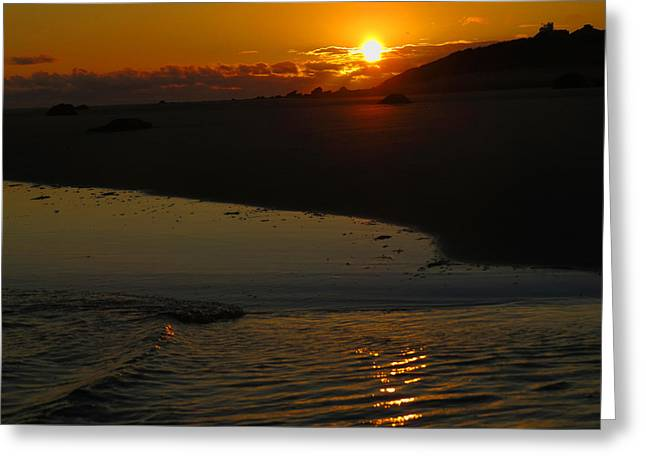 East Dennis Ma Greeting Cards - Sultry Sunrise Greeting Card by Dianne Cowen