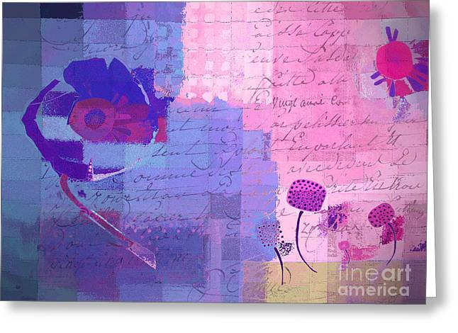 Mauve Greeting Cards - Summer 2014 - j049039158c178 Greeting Card by Variance Collections
