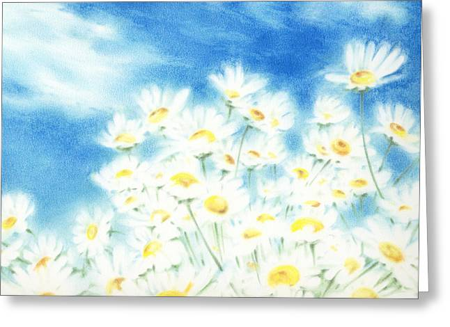 Pastel Palette Greeting Cards - Summer Afternoon  Greeting Card by Natasha Denger