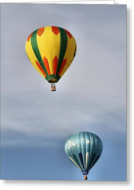 American Tradition Greeting Cards - Summer Balloons Greeting Card by Dan Sproul