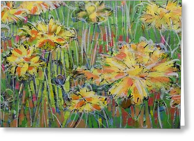 Loose Greeting Cards - Summer Begins Greeting Card by Larry Lerew