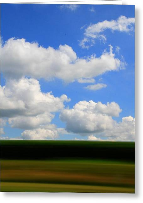 Daydreamer Greeting Cards - Summer Blur Greeting Card by Dan Sproul