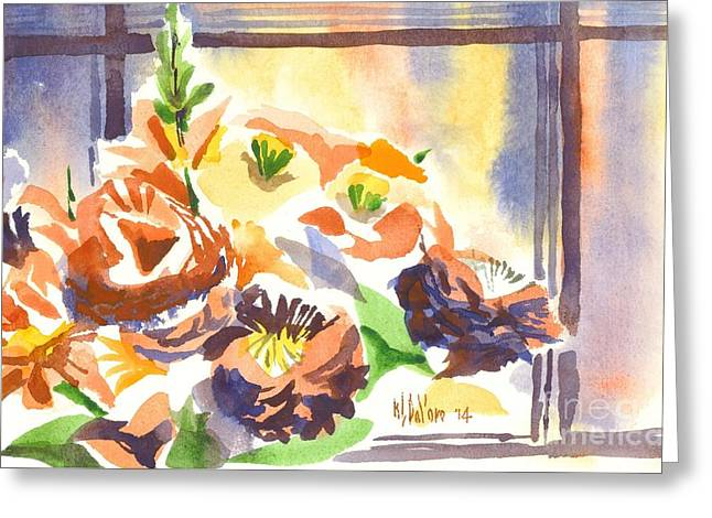 Spontaneous Greeting Cards - Summer Bouquet Greeting Card by Kip DeVore
