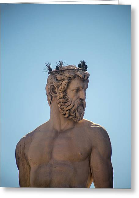 Greek Sculpture Greeting Cards - Summer Breeze  Greeting Card by A Rey