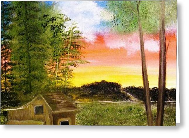 Summer Breeze Greeting Card by The Gypsy And D Kay