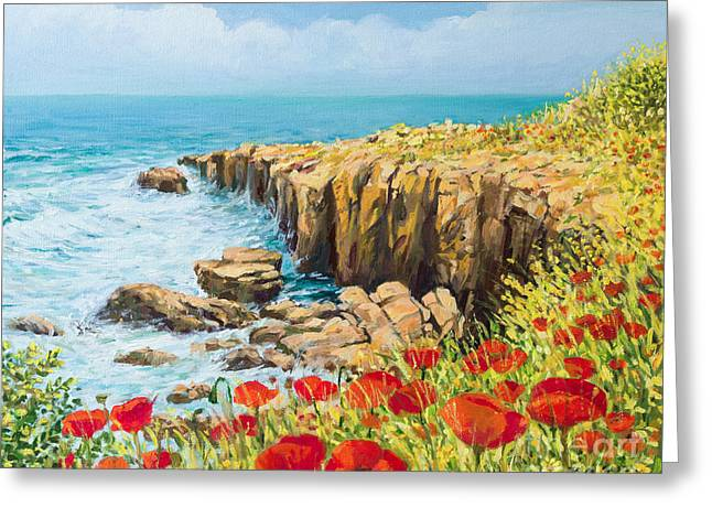 Blooms Greeting Cards - Summer Breeze Greeting Card by Kiril Stanchev