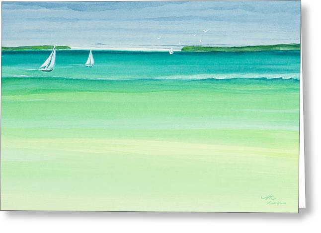 Summer Breeze Greeting Card by Michelle Wiarda