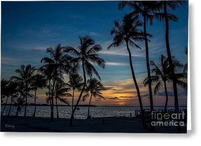 Isla Morada Greeting Cards - Summer Breeze Greeting Card by Rene Triay Photography