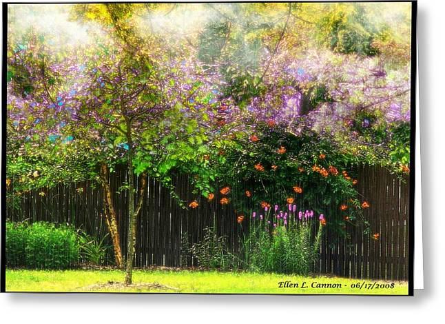 Summer Color Burst Greeting Card by Ellen Cannon