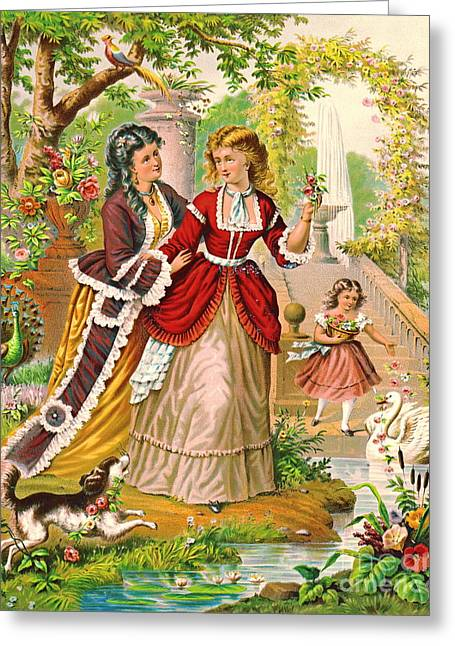 Summer Day 1874 Greeting Card by Padre Art