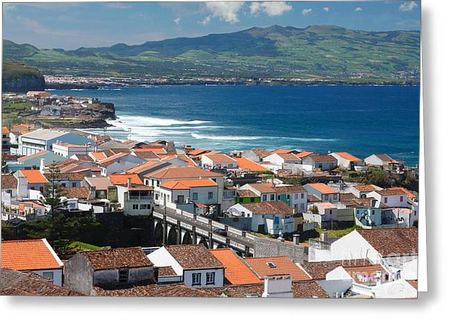 Azoren Greeting Cards - Summer day in Sao Miguel Greeting Card by Gaspar Avila