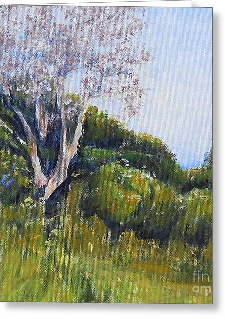 Jane See Art Greeting Cards - Summer Day Greeting Card by Jane  See