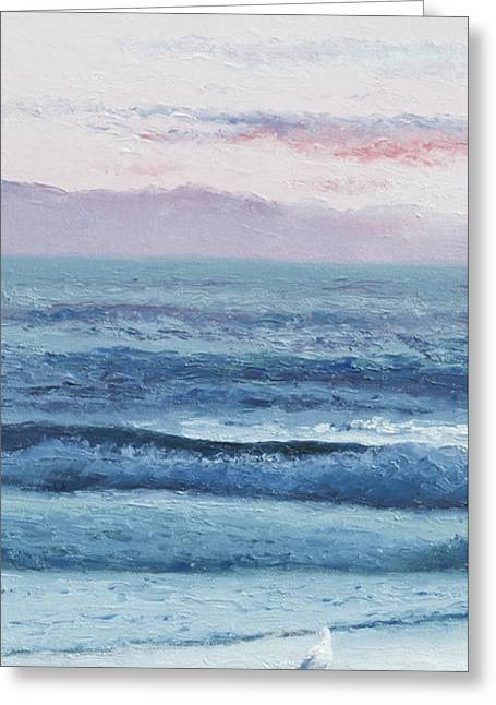 Ocean Scenes Greeting Cards - Summer Dream Greeting Card by Jan Matson