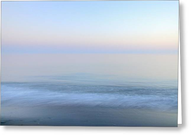 Sunset Abstract Photographs Greeting Cards - Summer Dreams Vintage sea series. Greeting Card by Guido Montanes Castillo