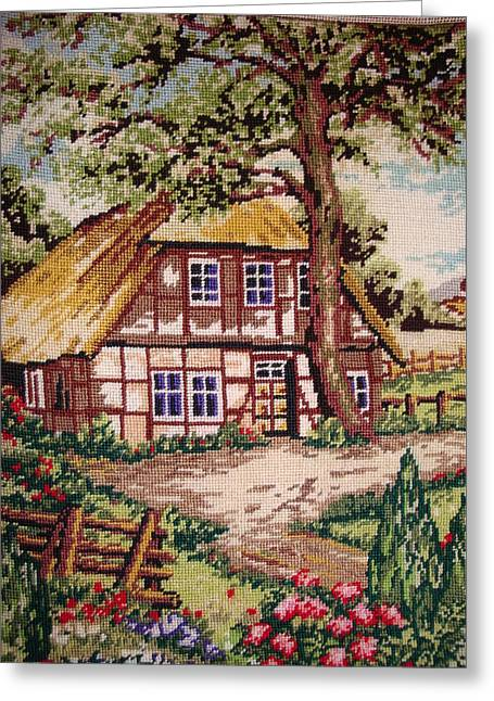 Summer Tapestries - Textiles Greeting Cards - Summer Greeting Card by Eugen Mihalascu