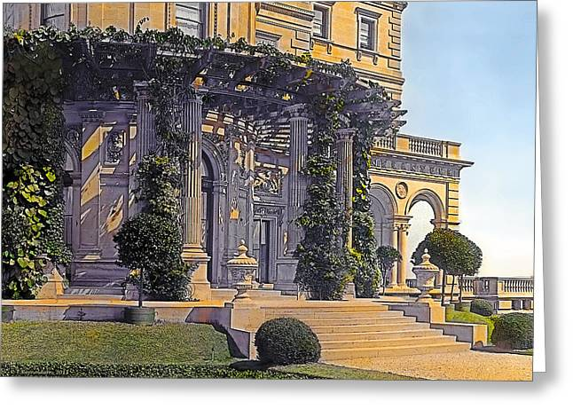 Kinkade Greeting Cards - Summer Evening Greeting Card by Terry Reynoldson