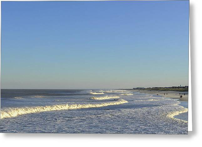Seaside Heights Greeting Cards - Summer Fun Jersey Shore Greeting Card by Terry DeLuco