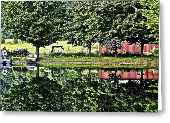 Ledge Greeting Cards - Summer Getaway Greeting Card by Frozen in Time Fine Art Photography