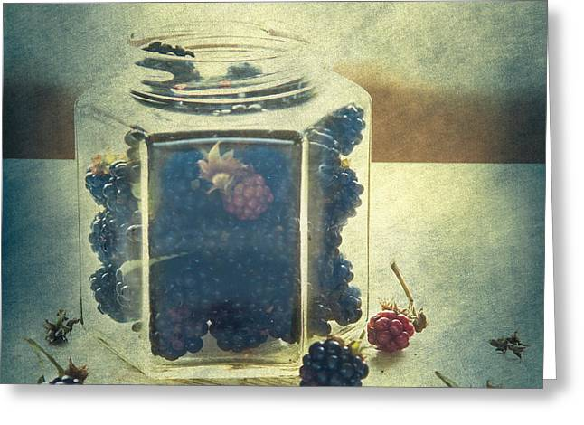 Artistic Photography Greeting Cards - Summer in a bottle Greeting Card by Constance Fein Harding