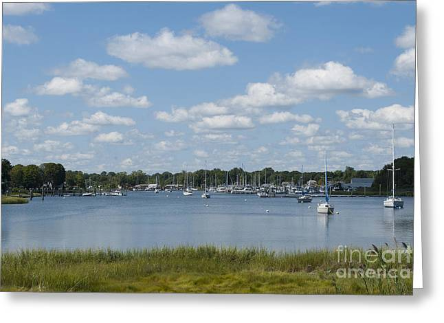 Body Of Water Greeting Cards - Summer in New England Greeting Card by Juli Scalzi