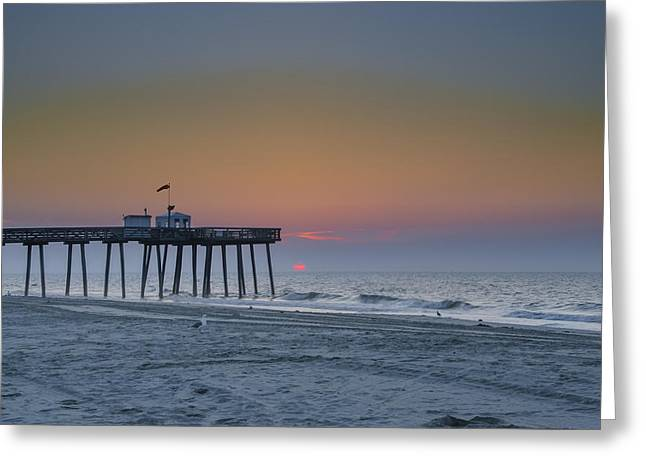 Surf City Greeting Cards - Summer in Ocean City Greeting Card by Bill Cannon