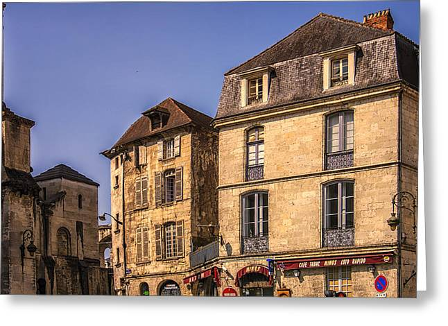 Traditional Door Greeting Cards - Summer in Perigueux Greeting Card by Nomad Art And  Design
