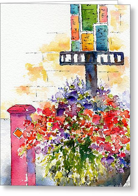 Summer In The City Greeting Card by Pat Katz