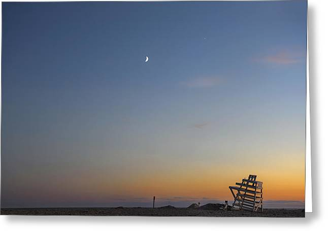 Half Moon Bay Greeting Cards - Summer in the Hamptons Greeting Card by Marianne Campolongo