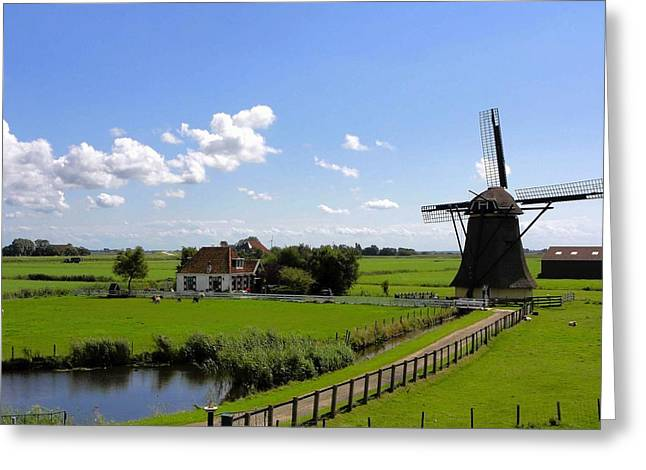 Lovely Pond Greeting Cards - Summer in the Netherlands Greeting Card by Mountain Dreams
