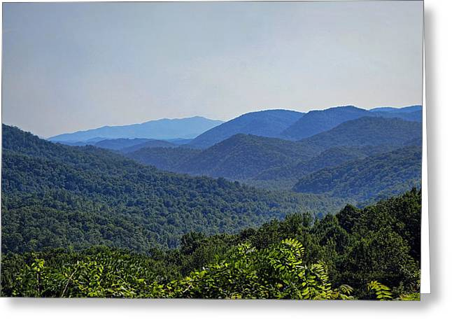 Gatlinburg Tennessee Greeting Cards - Summer in the Smokies Greeting Card by Cricket Hackmann